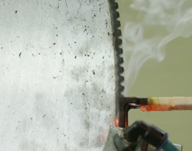 Hot Cutting Saw Blade